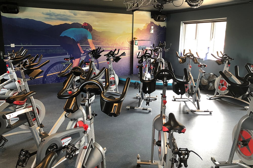 Indoor Cycling Spin Studio Dawlish Gym
