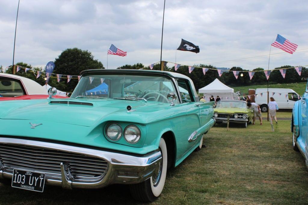 American Car Show at Cofton