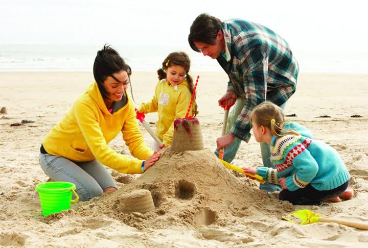 Family Beach Holiday Devon