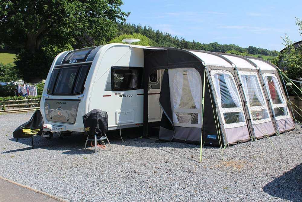 Campsite in Devon Hardstanding 9m