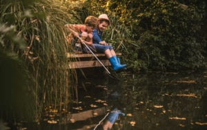 Pond dipping