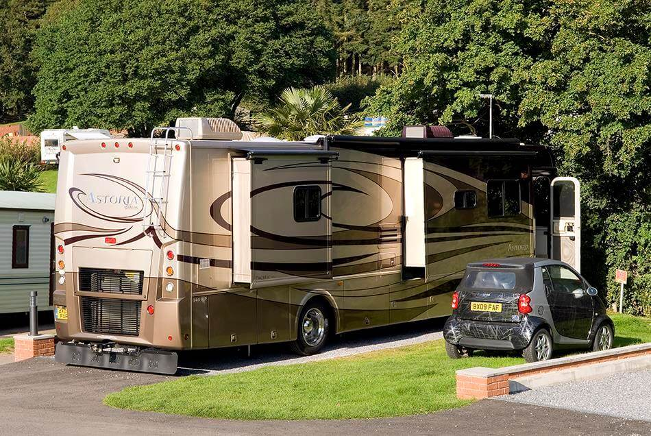 RV Pitch Accommodation Image