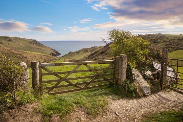 Glorious Devon views on caravan holidays in Devon