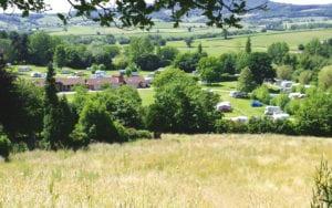 Campervan Campsite Facilities South Devon