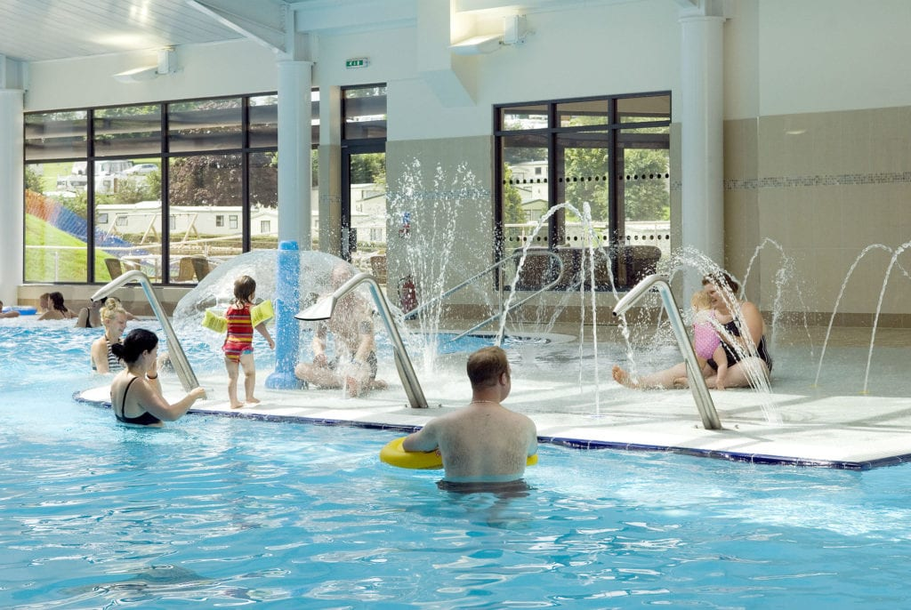 Devon Holidays Indoor Swimming pool