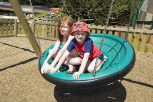 Outdoor Play at Cofton Holidays