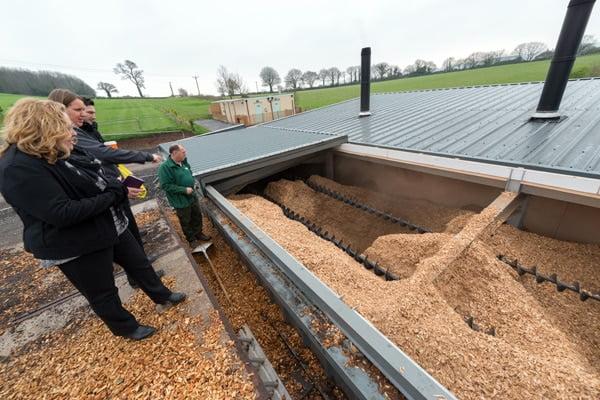 Cofton Biomass Boiler