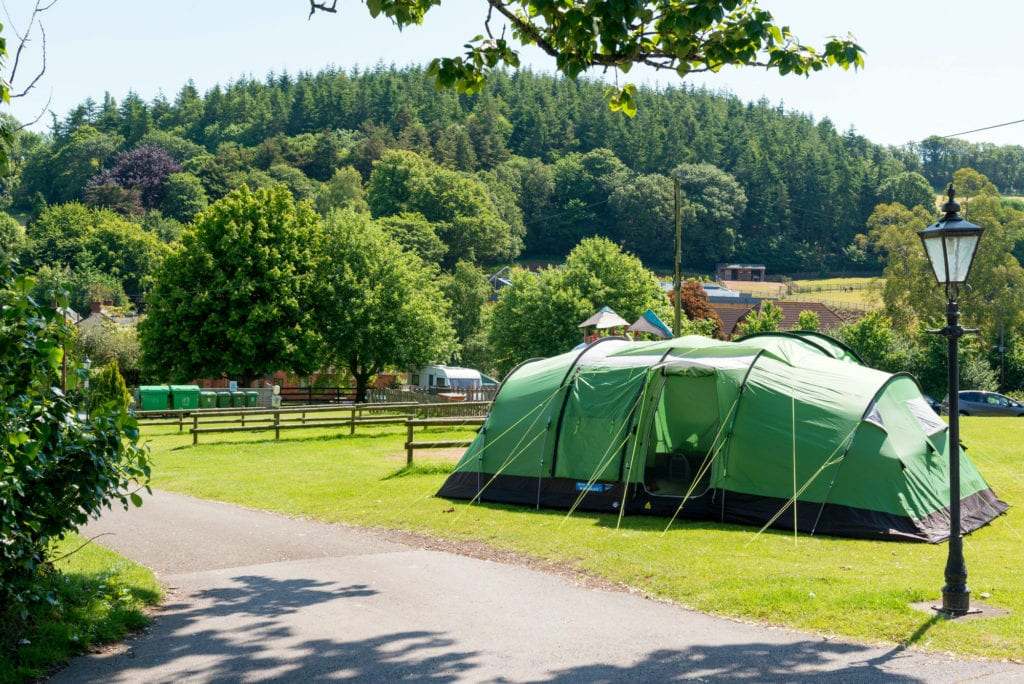 campsites and touring pitches in Devon - Cofton Holidays
