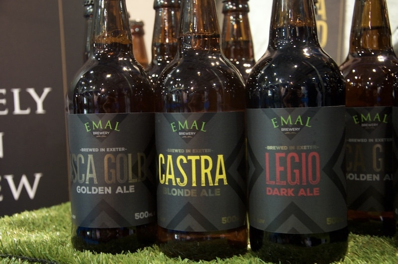 Emal Brewery local Devon beers