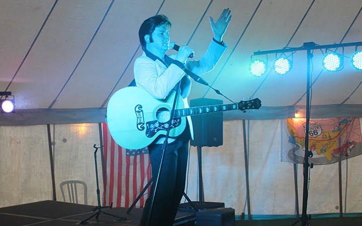 Adam Carter as Elvis Cofton American Car Show Weekend