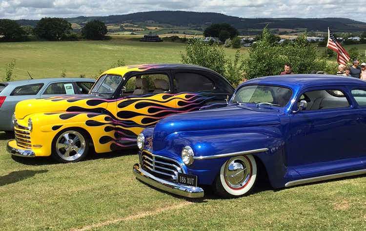 Cofton Holidays american car show