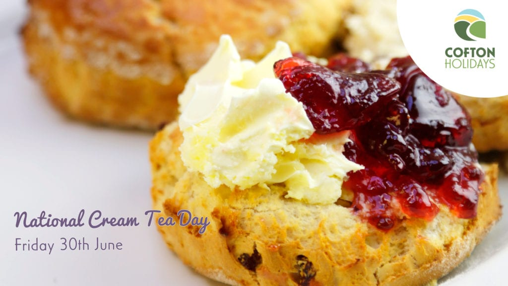 National Cream Tea Day at Cofton Holidays in Devon