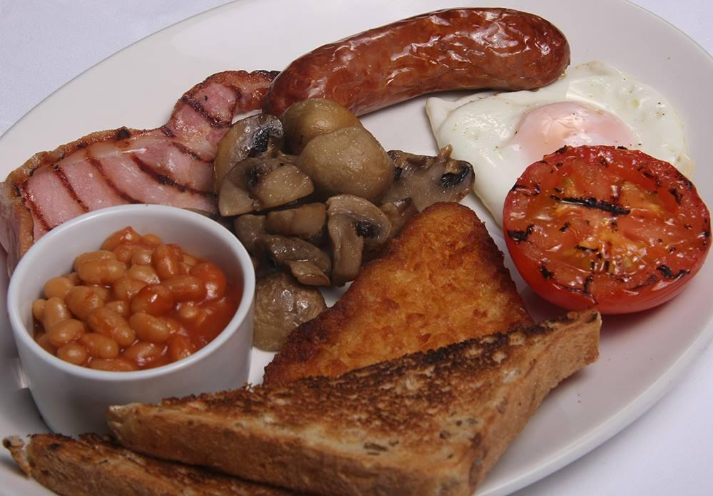 Full English Breakfast on Static Caravan Short Breaks in Devon