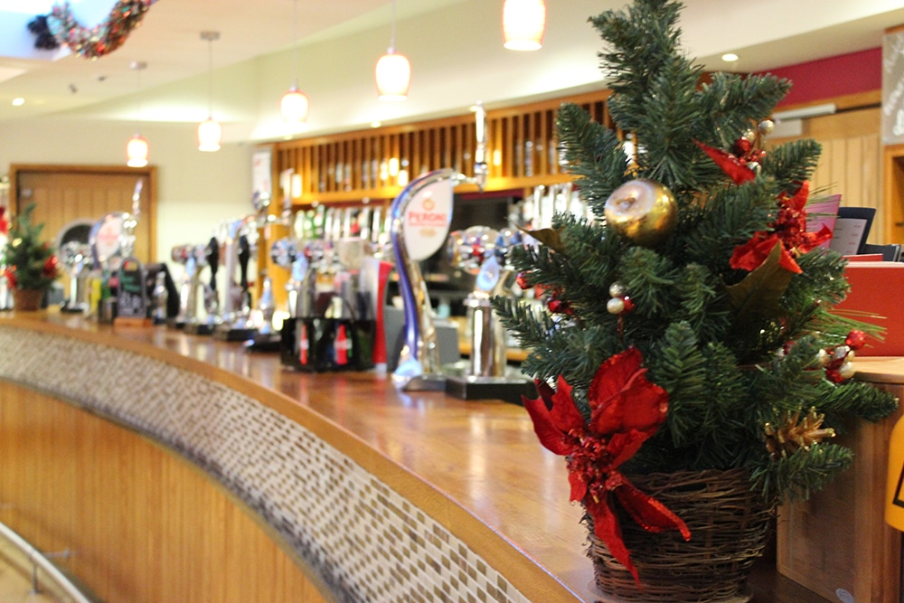 Christmas Parties Restaurant Exeter