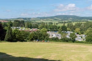 Seasonal caravan pitches in devon