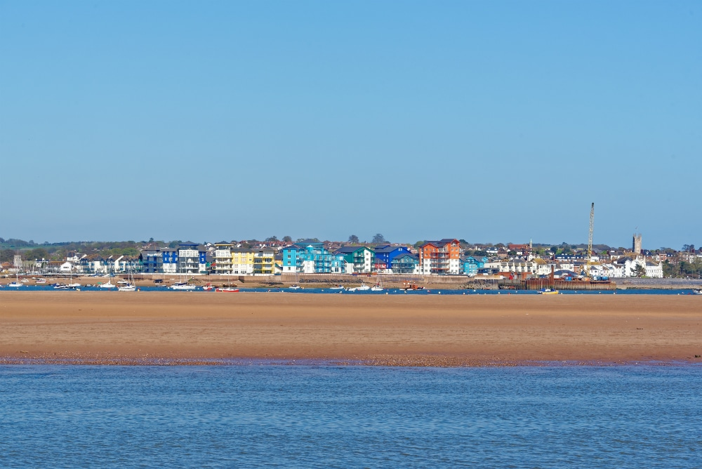 Exmouth Beach - River Exe - Stay at Cofton Holidays in Devon
