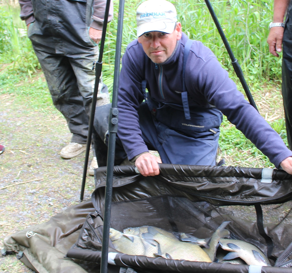Fishing Holidays in Devon Competition Paul Bland Silver Bream Bag