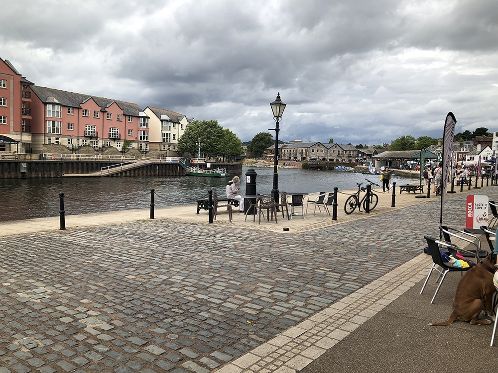 Exeter Quayside Cycling