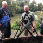 Cofton Cup fishing competition finalist Bob Rand