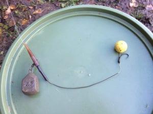 Autumn Carp Fishing Pineapple bottom bait