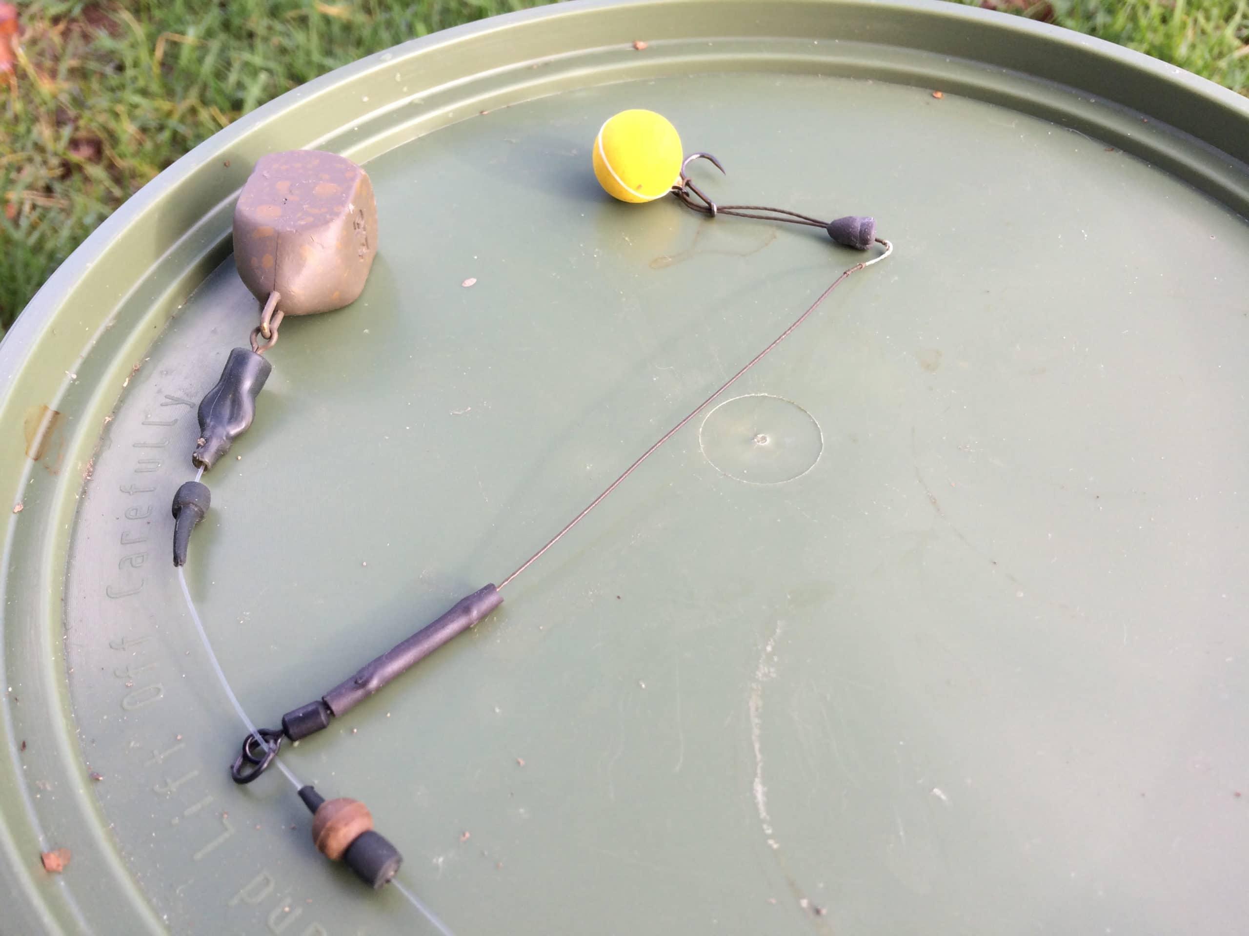Autumn Carping bait rig