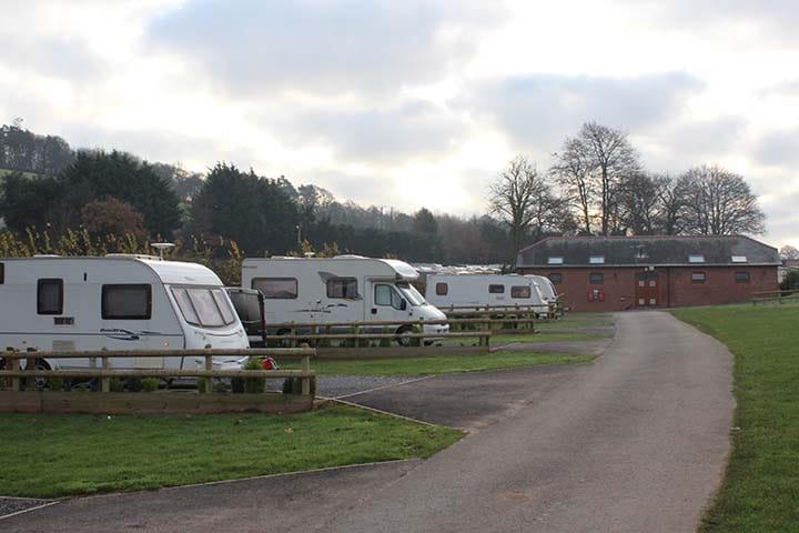 All year round caravan parks