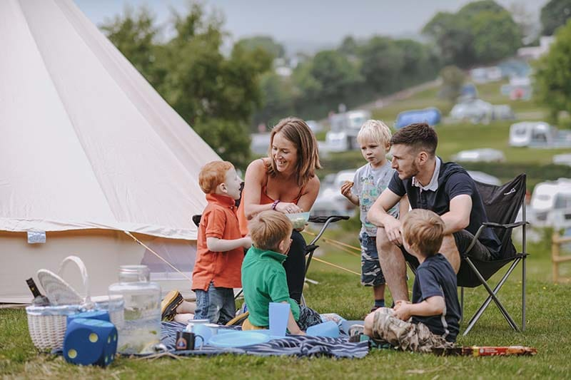 The Best Camping Pitches