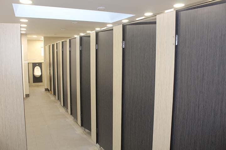 Warm toilets for caravan parks