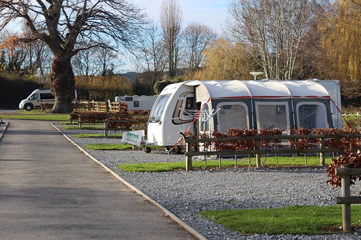Touring Caravan Site in Devon