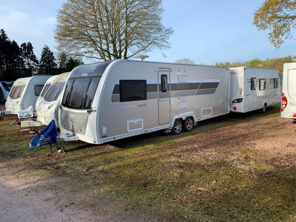 Caravan Storage in Devon