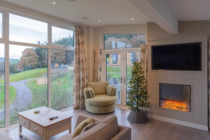 Christmas lodge Holidays in Devon